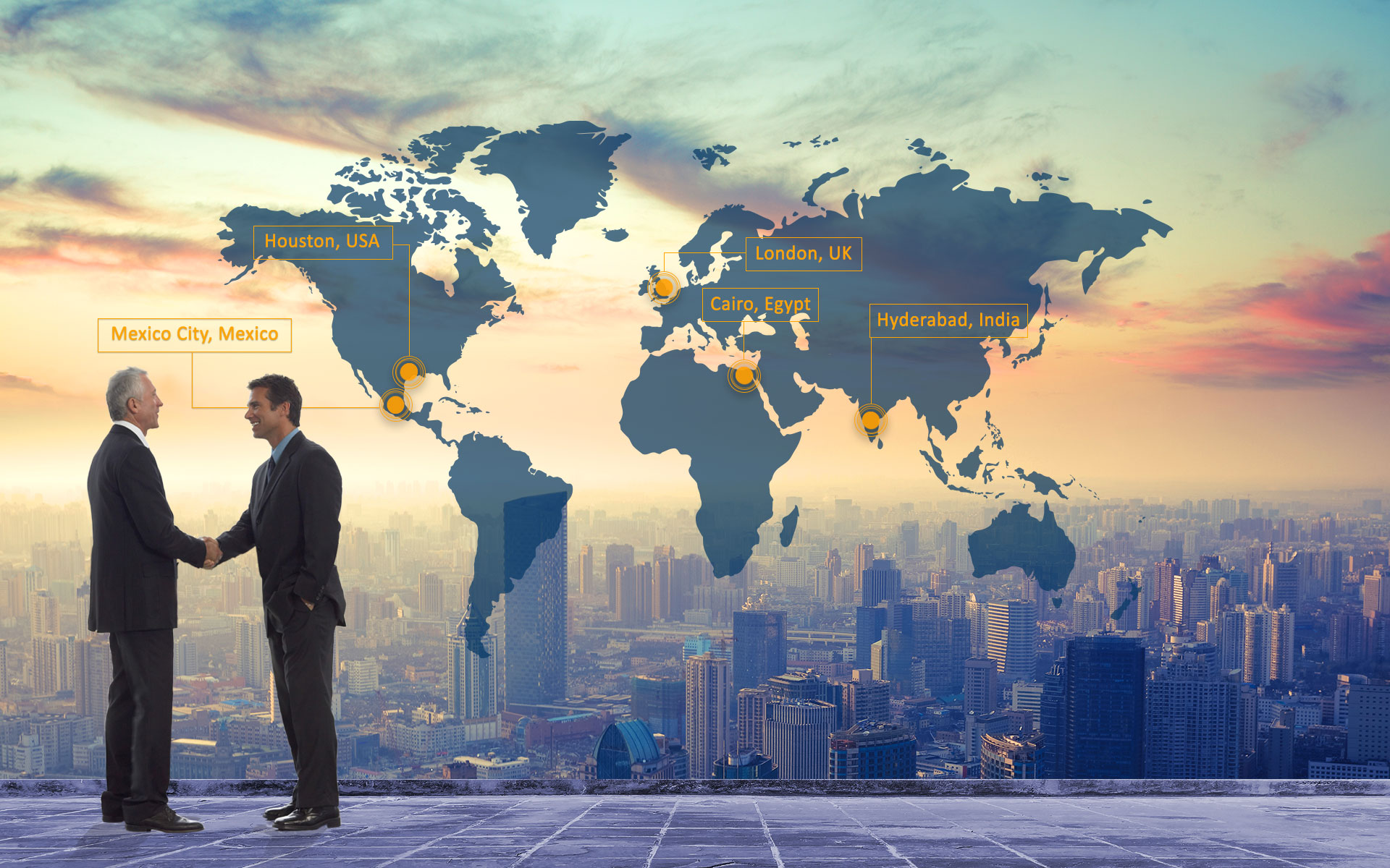 To be your Global Partner, delivering World's Best Service ...